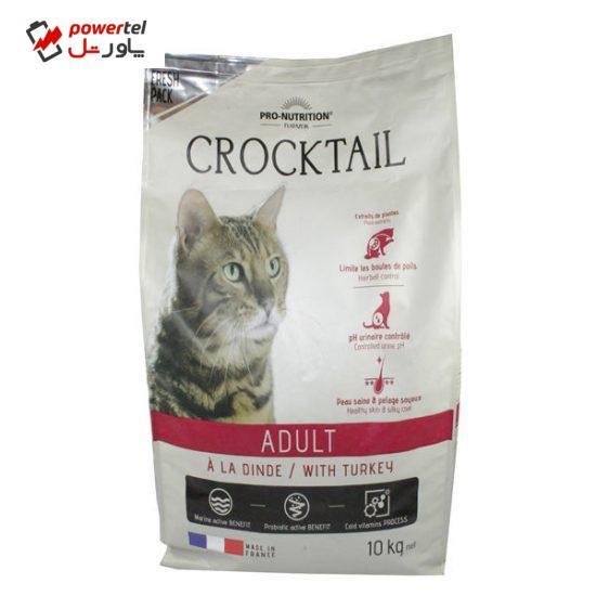 غذای خشک گربه فلاتازور مدل بوقلمون برای گربه های بالغ وزن 10 کیلوگرم