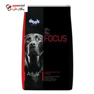 غذای خشک سگ بالغ درولز مدل Focus adult وزن 12 کیلوگرم