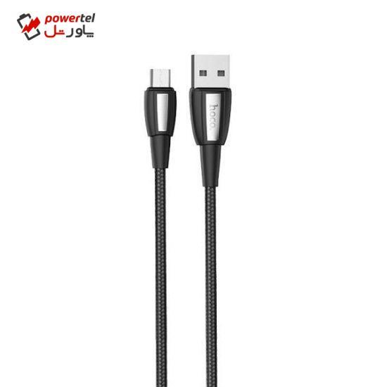 کابل تبدیل USB به microUSB هوکو مدل X39 طول 1 متر