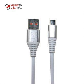 کابل تبدیل USB به microUSB اوآک مدل K-135 طول 1 متر