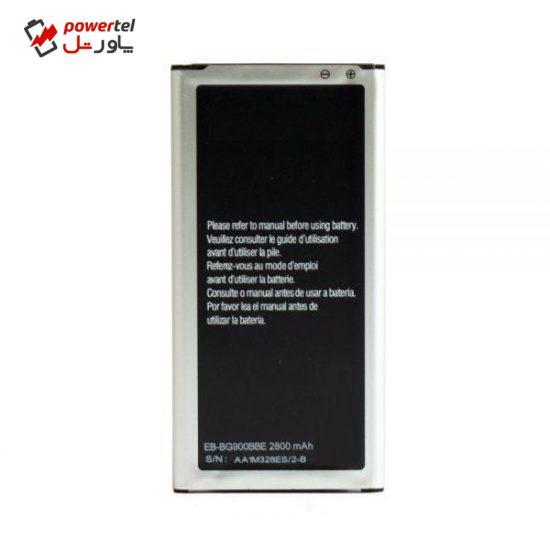 باتری موبایل مدل BG900BBC ظرفیت 2800 میلی آمپر ساعت مناسب برای گوشی موبایل سامسونگ Galaxy S5