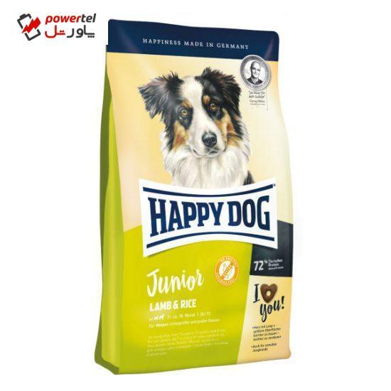 غذای خشک سگ هپی داگ مدل Junior Lamb Rice وزن 10 کیلوگرم