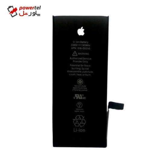 باتری موبایل مدل 0256-616 ظرفیت 1960 میلی امپر ساعت مناسب برای گوشی موبایل اپل iphone7g
