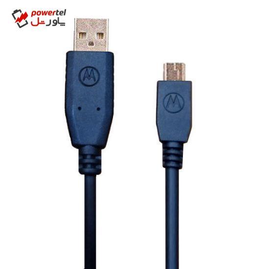 کابل تبدیل USB به MiniUSB موتورولا مدل skn63 طول1متر