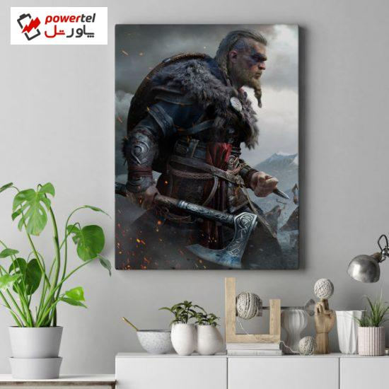 تابلو شاسی طرح گیمینگ مدل Tarh20-Assassins-Creed