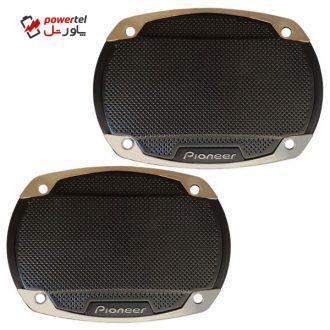 قاب اسپیکر خودرو پایونیر مدل 6975 مناسب سایز 6×9 اینچ بسته دو عددی
