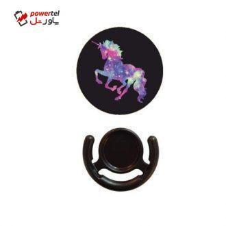 پایه نگهدارنده گوشی موبایل پاپ سوکت مدل Colorful-Horse