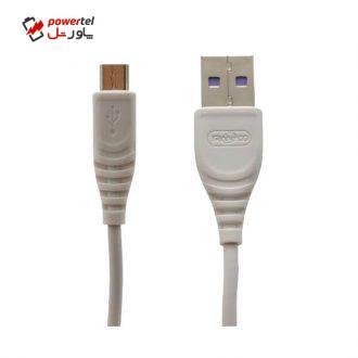 کابل تبدیل USB به microUSB ترانیو مدل S2-V طول 2 متر