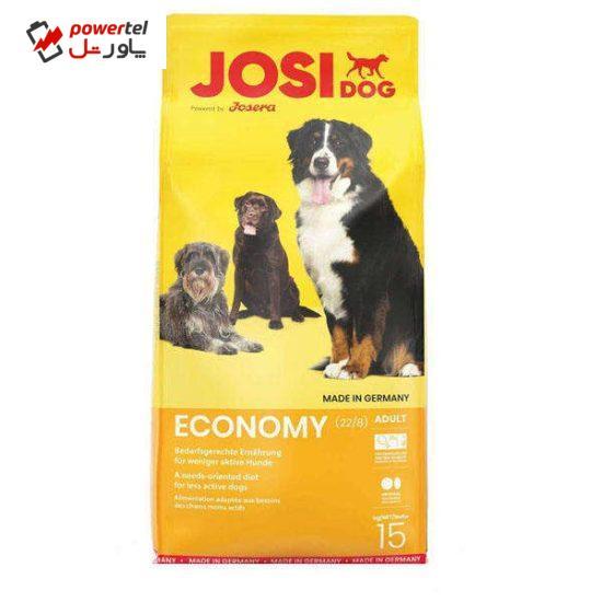 غذا خشک سگ جوسرا مدل economy وزن 15 کیلوگرم
