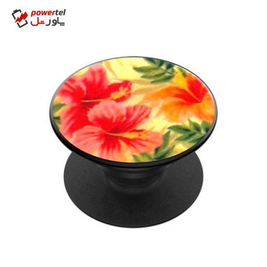 پایه نگهدارنده گوشی موبایل پاپ سوکت مدل گل