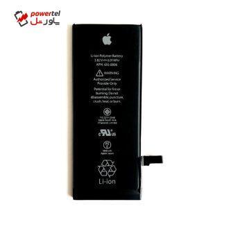 باتری موبایل مدل IP_6G ظرفیت 1810 میلی امپر ساعت مناسب برای گوشی موبایل اپل iphone 6G بسته 10 عددی