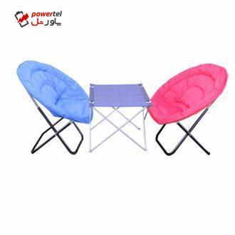 میز و صندلی سفری مدل  TAYSIZ01مجموعه دو عددی