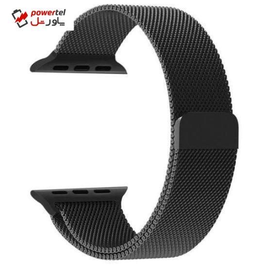 بند بلکین مدل Milanese loop مناسب برای اپل واچ 42/44 میلی متری