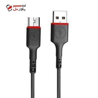 کابل تبدیل USB به microUSB اککیو مدل UC04  طول 0.30 متر