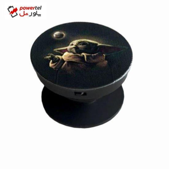 پایه نگهدارنده گوشی موبایل پاپ سوکت مدل بیبی یودا