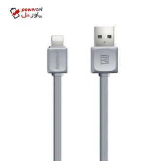 کابل تبدیل USB به لایتنینگ ریمکس مدل  RC008i طول 1 متر