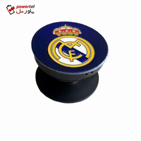 پایه نگهدارنده گوشی موبایل پاپ سوکت مدل رئال مادرید 01