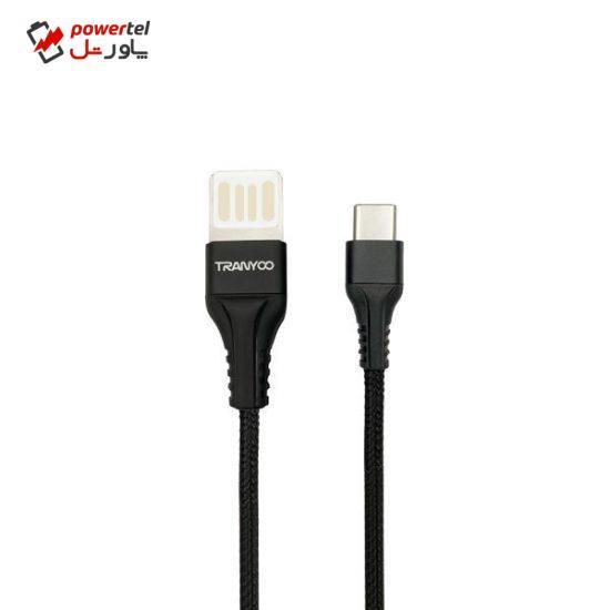 کابل تبدیلUSB به USB-C ترانیو مدل X7-C طول 1 متر