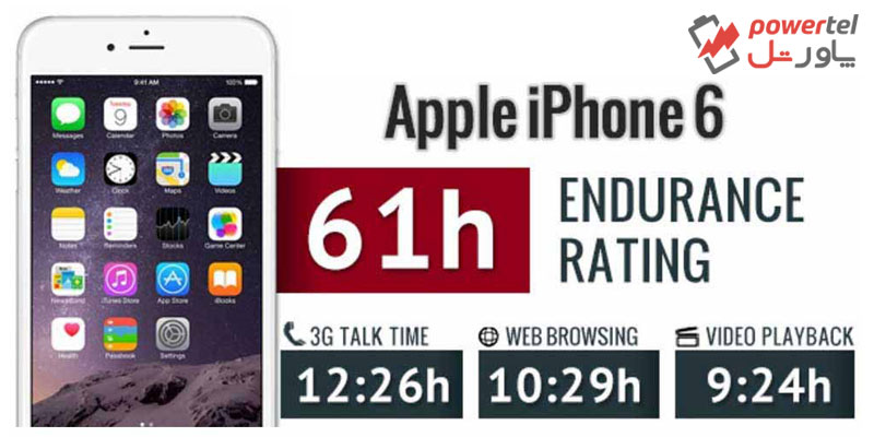 باتری اورجینال اپل آیفون 6 ( iphone 6 )
