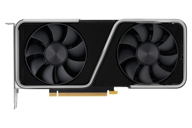 کارت گرافیک NVIDIA GeForce RTX 3060 Ti نمای جلو فن ها / انویدیا جی فورس RTX 3060 Ti